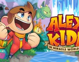 Alex Kidd Miracle World DX aangekondigd